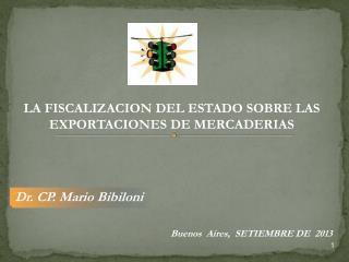 Dr. CP. Mario  Bibiloni