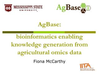 bioinformatics enabling knowledge generation from agricultural omics data