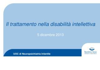 UOC di Neuropsichiatria Infantile