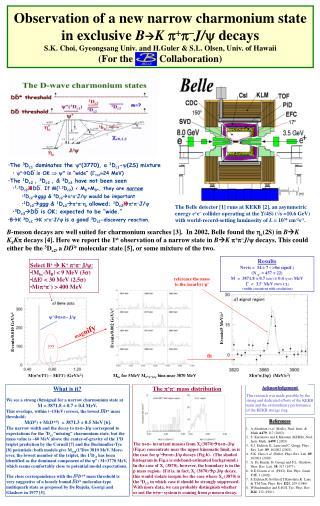 References A.Abashian  et al.  (Belle), Nucl. Instr. & Meth  A479 , 117 (2002).