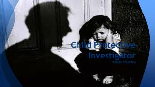 Child Protective Investigator Kelsey McCarthy