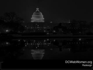DCWebWomen Redesign