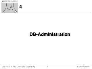DB-Administration