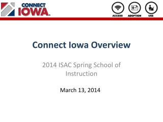 Connect Iowa Overview