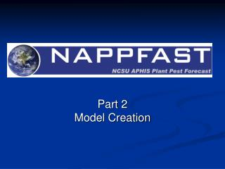 Part 2 Model Creation
