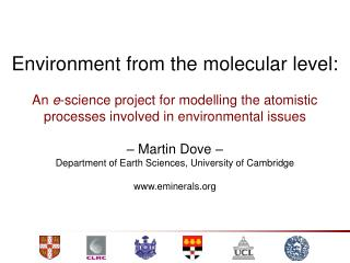 Environment from the molecular level: