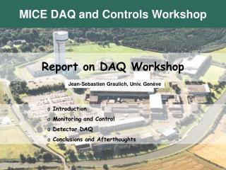 Report on DAQ Workshop