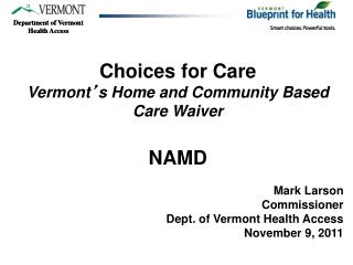 Department of Vermont Health Access