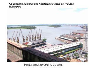 XX Encontro Nacional dos Auditores e Fiscais de Tributos Municipais