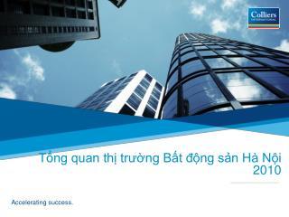 Tổng quan thị trường Bất động sản Hà Nội 2010