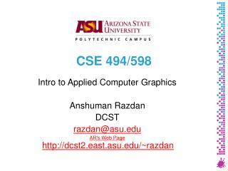 CSE 494/598