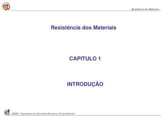 CAPITULO 1 INTRODUÇÃO