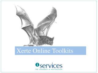 Xerte Online Toolkits
