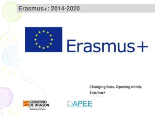 Erasmus+: 2014-2020