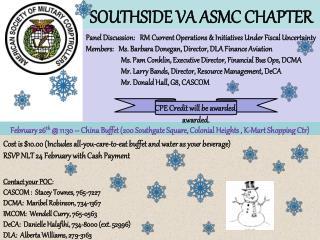 SOUTHSIDE VA ASMC CHAPTER