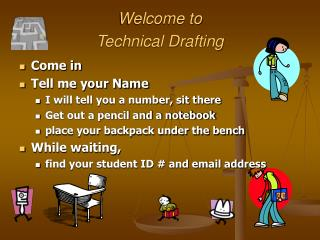 Welcome to  Technical Drafting