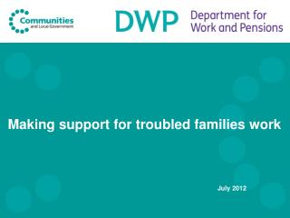 Making support for troubled families work