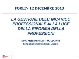 FORLI�- 12  DICEMBRE 2013
