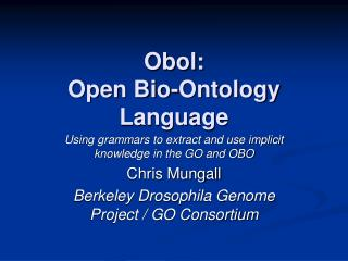 Obol: Open Bio-Ontology Language