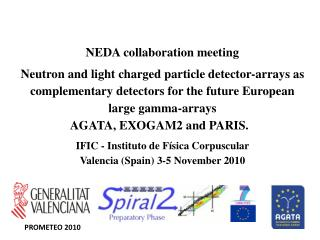 NEDA collaboration meeting