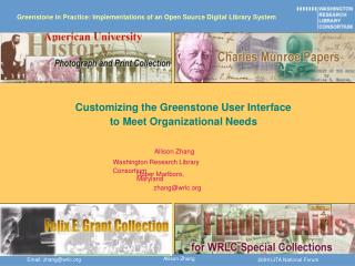 Greenstone in Practice: Implementations of an Open Source Digital Library System