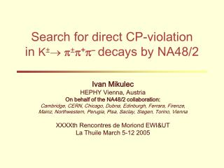 Search for direct CP-violation in  K ±   p ± p + p – decays by NA48/2