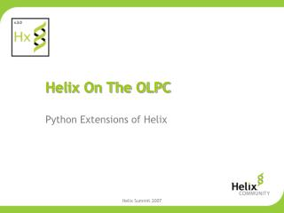 Helix On The OLPC