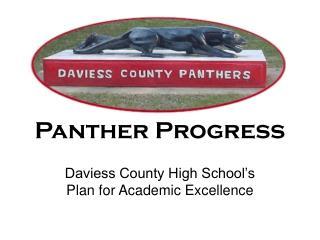 Panther Progress