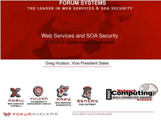 Web Services and SOA Security