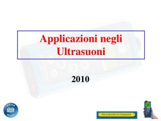 Applicazioni negli Ultrasuoni