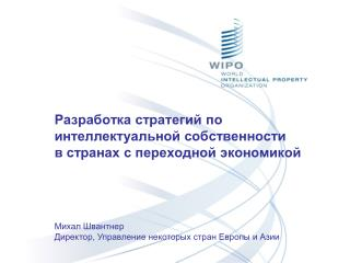 Разработка стратегий по интеллектуальной собственности  в странах с переходной экономикой