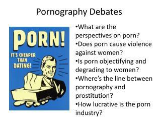 Pornography Debates