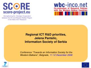 Identifying ICT R&D priorities for the WB countries: consultation process