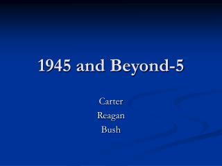 1945 and Beyond-5