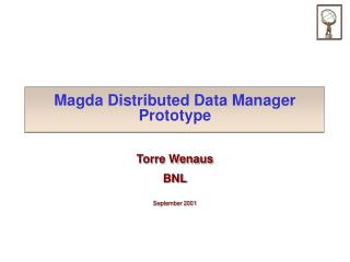 Magda Distributed Data Manager Prototype