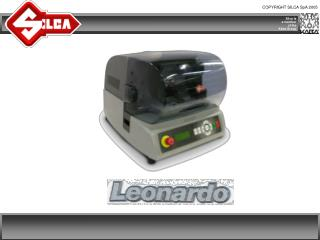 Leonardo guarantees simply ingenious key cutting!
