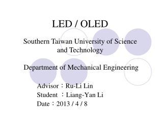 LED / OLED