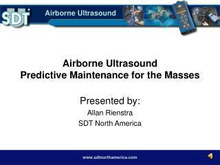Airborne Ultrasound Predictive Maintenance for the Masses