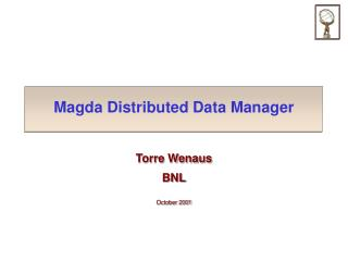 Magda Distributed Data Manager