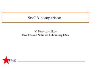 StvCA comparison