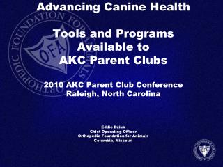 American Kennel Club Canine Health Resource Center akc