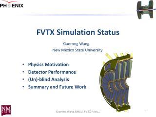 FVTX Simulation Status