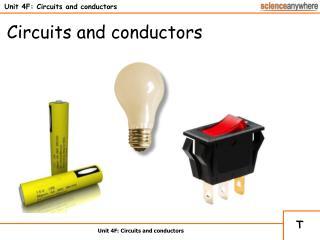 Unit 4F: Circuits and conductors