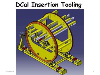 DCal Insertion Tooling