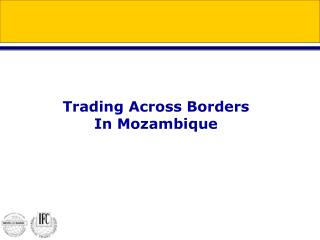 Trading Across Borders In Mozambique