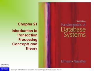 1 Introduction to Transaction Processing (1)