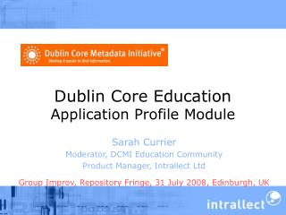 Dublin Core Education Application Profile Module