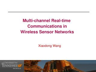 Multi-channel Real-time  Communications in  Wireless Sensor Networks