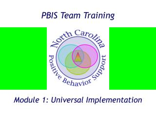 PBIS Team Training