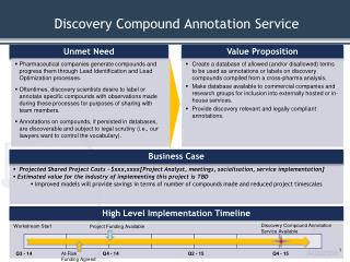Discovery Compound Annotation Service